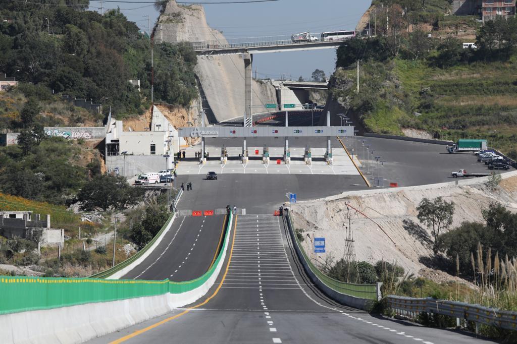 Listas las casetas de cobro en la nueva autopista