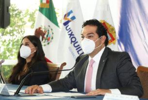 Enrique Vargas del Villar señala que en Huixquilucan es obligatorio portar cubrebocas