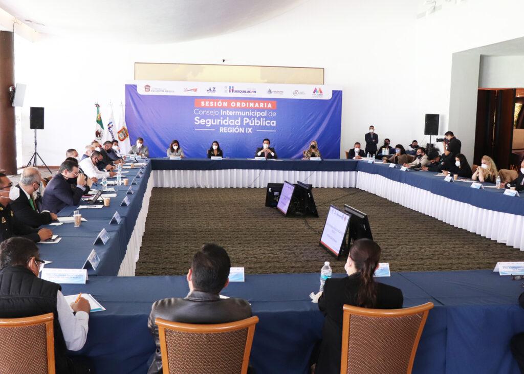 Reunión de Seguridad de seis municipios