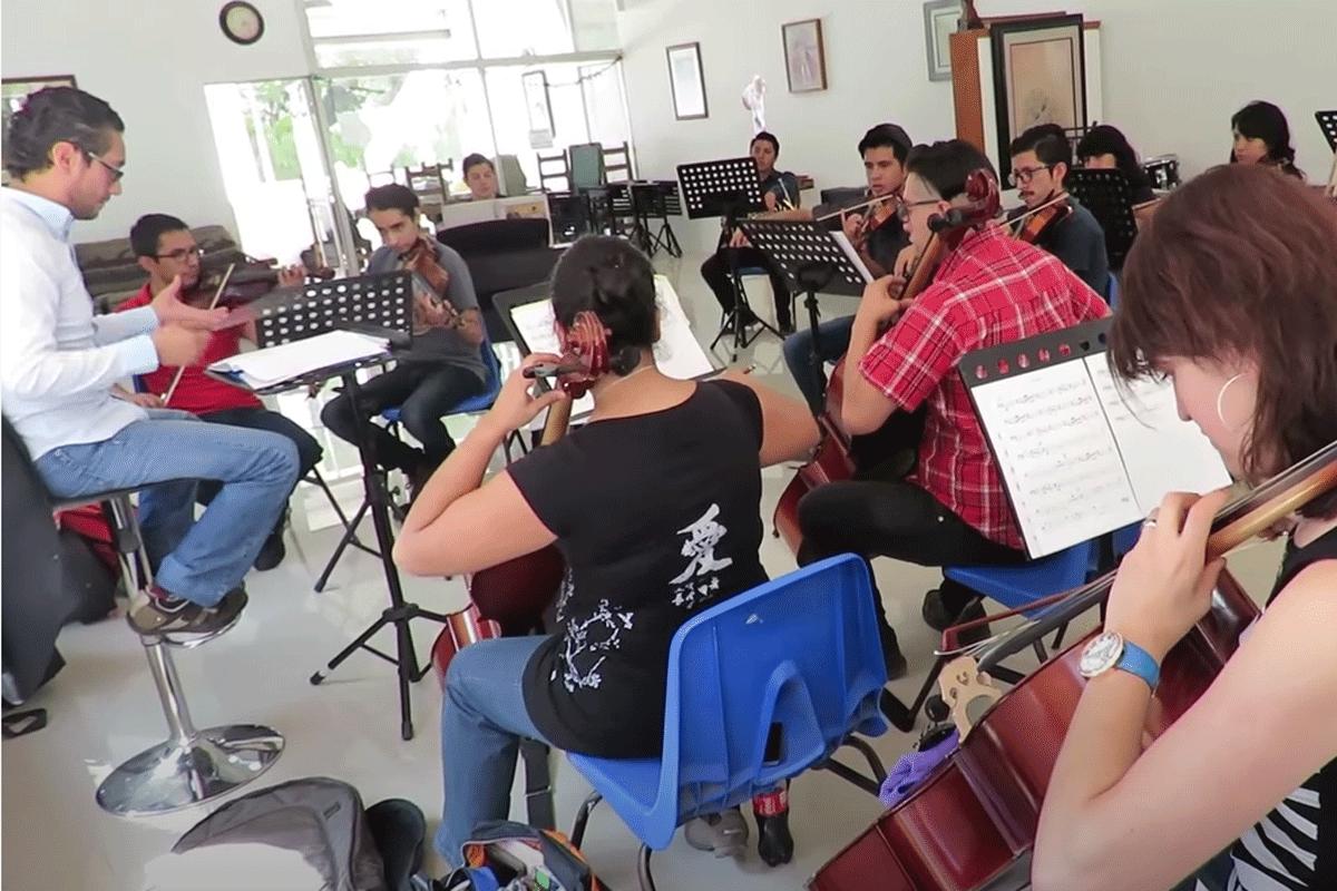 Nueva sangre en la Orquesta Sinfónica Juvenil de Naucalpan