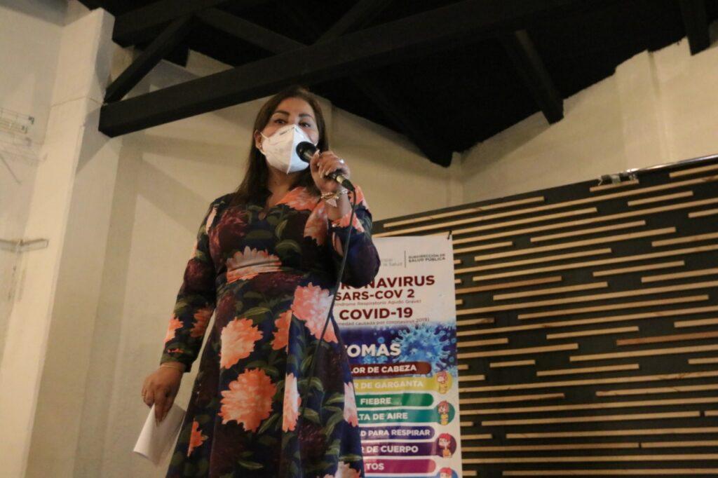 Rosalba Gualito llama a extremar cuidados ante pandemias