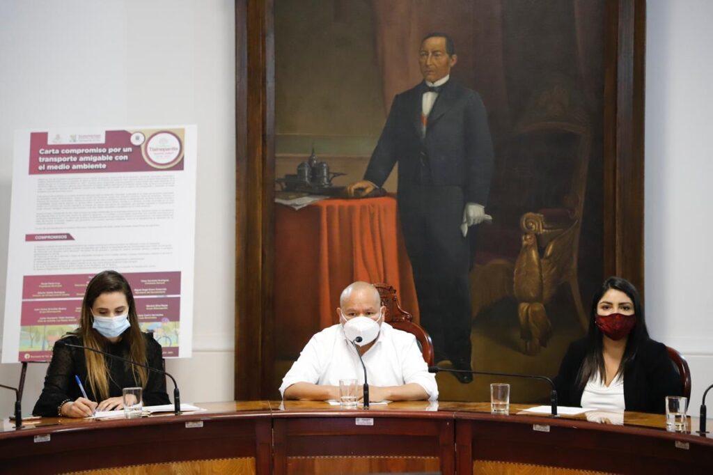 Raciel Pérez Cruz comprometido con la movilidad de los ciudadanos