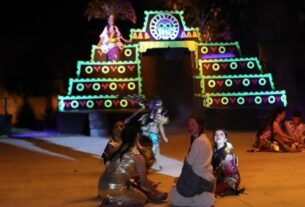 Escenografías de lujo en la puesta en escena de La Llorona