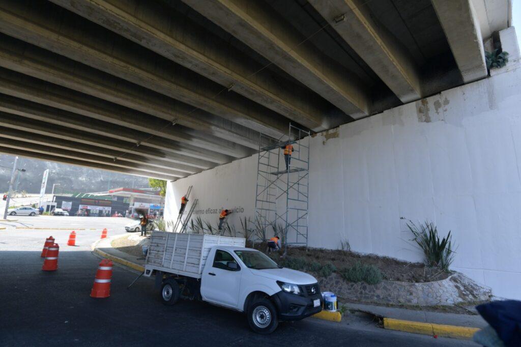 Puentes rehabilitados en Atizapán de Zaragoza