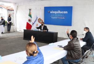 Enrique Vargas del Villar y resto del Cabildo de Huixquilucan aprueban asumir el ISR de los empleados