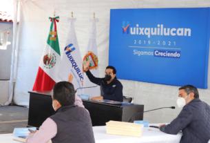 El cabildo de Huixquilucan aprueba no cobrar ni multas ni recargos en impuesto predial y agua