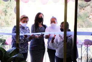 Inauguran casa de ayuda a los habitantes del ejido San Francisco Chimalpa