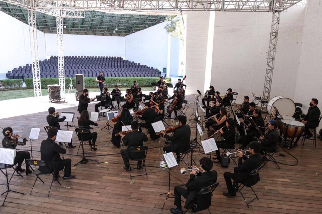 Nuevos 48 integrantes de la Orquesta Sinfónica Juvenil de Naucalpan