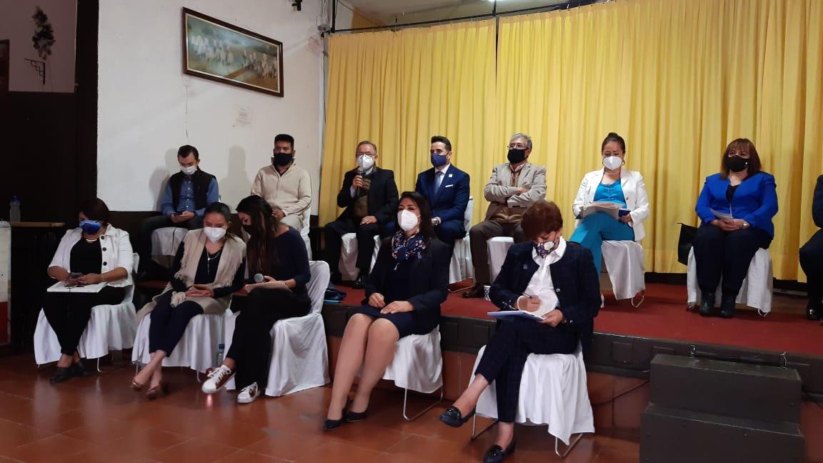 Participantes que piden ampliar consulta del Plan de Desarrollo Municipal