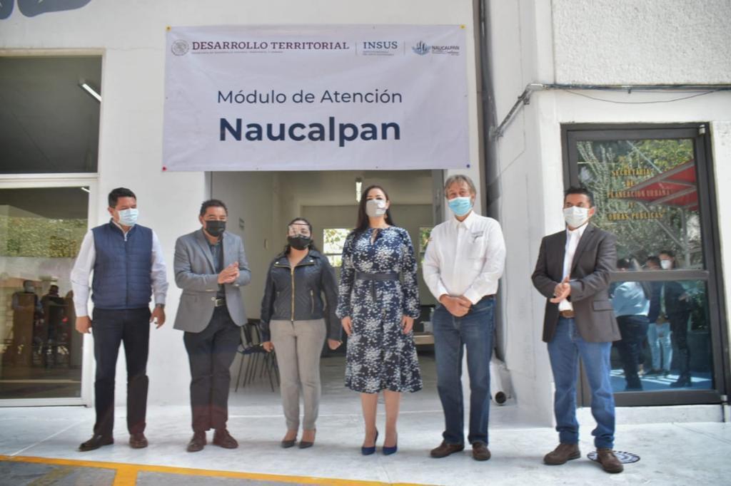A regularizar los predios exhortan en Naucalpan, con oficina regional del trámite federal
