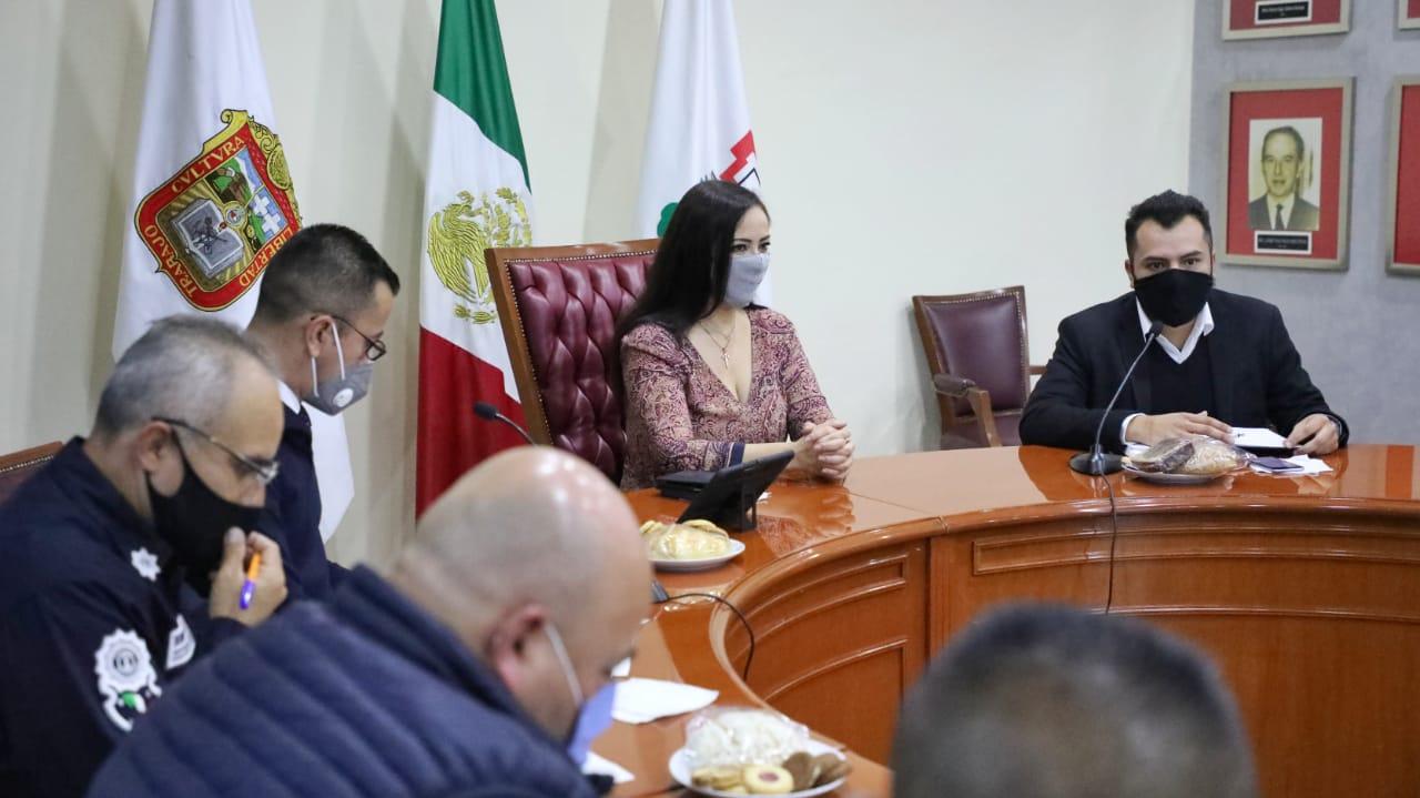 Reunión por la paz en Naucalpan