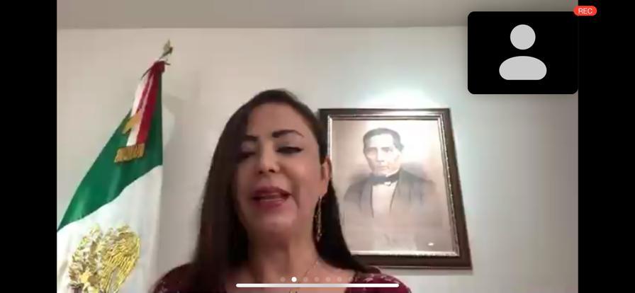 Patricia Durán Reveles inaugura curso del INFOEM