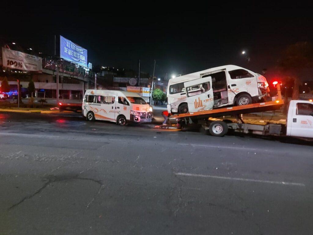 Unidades de transporte dañadas