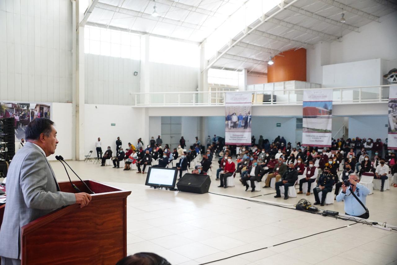 Segundo Informe de Luis Maya Doro, como presidente municipal de Almoloya de Juárez