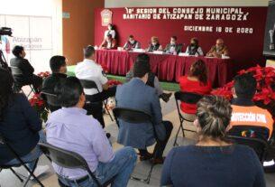 Tianguistas de Atizapán de Zaragoza, comprometidos a atacar medidas sanitarias