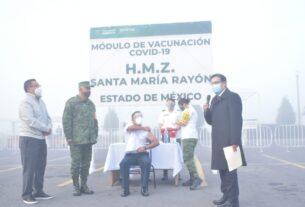 Vacunación en el Estado de México