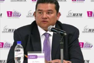 Pedro Zamudio Godínez, presidente del IEEM