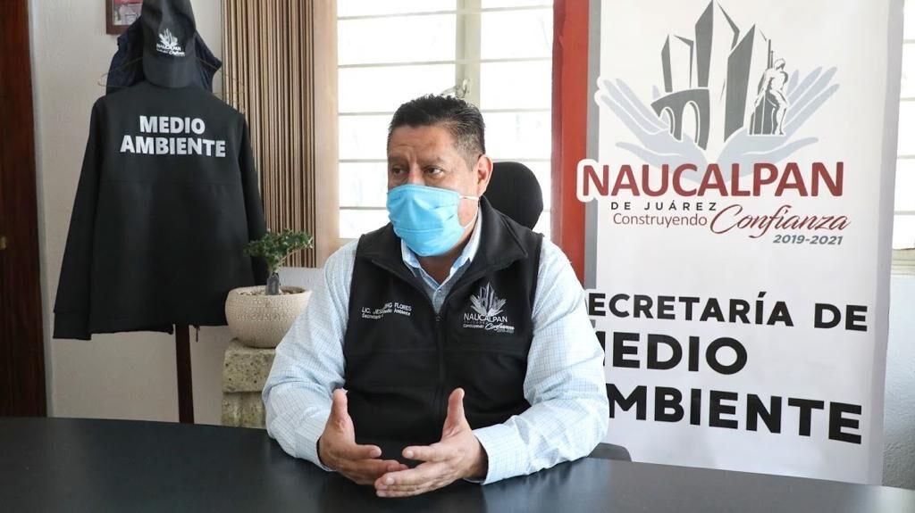 secretario de Medio Ambiente, Jesús King Flores