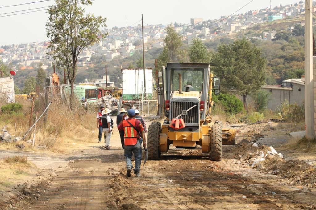 La carretera a la Universidad Pública Naucalpense