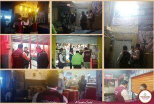 Revisan negocios y cancelan fiestas en Tlalnepantla