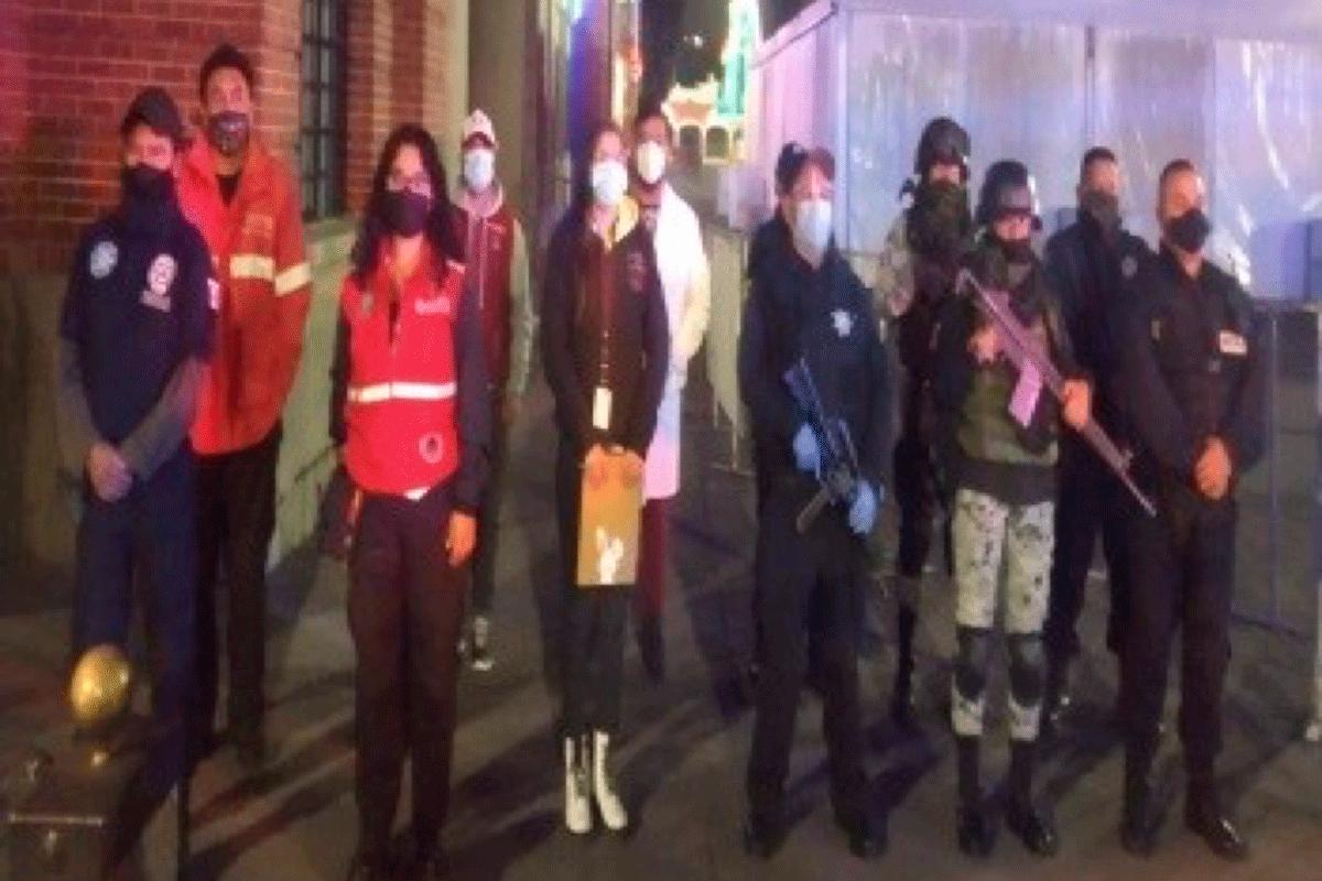 Guardia Nacional, policías estatales y municipales de Tlalnepantla en lucha para evitar COVID-19