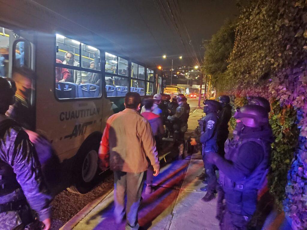 El Grupo Especial de Atizapán de Zaragoza contra la delincuencia