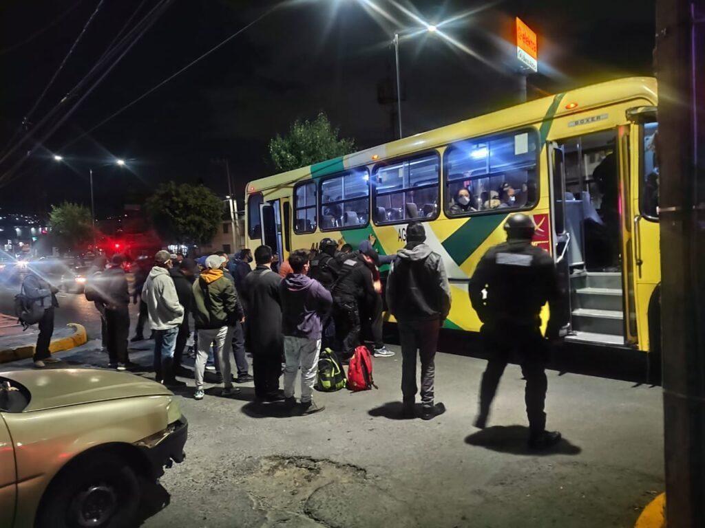 De día y de noche, las acciones contra delincuentes en Atizapán de Zaragoza
