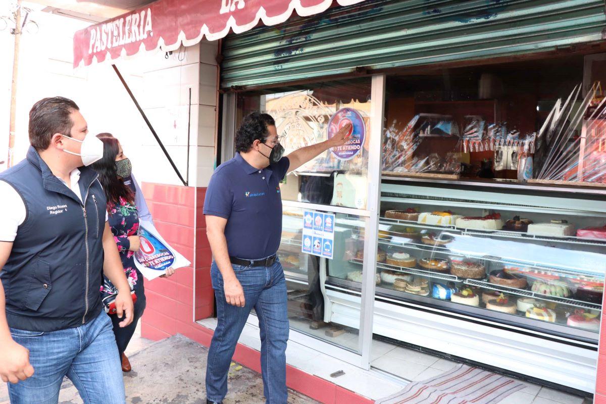 Enrique Vargas del Villar confirma que negocios cumplan con medidas sanitarias