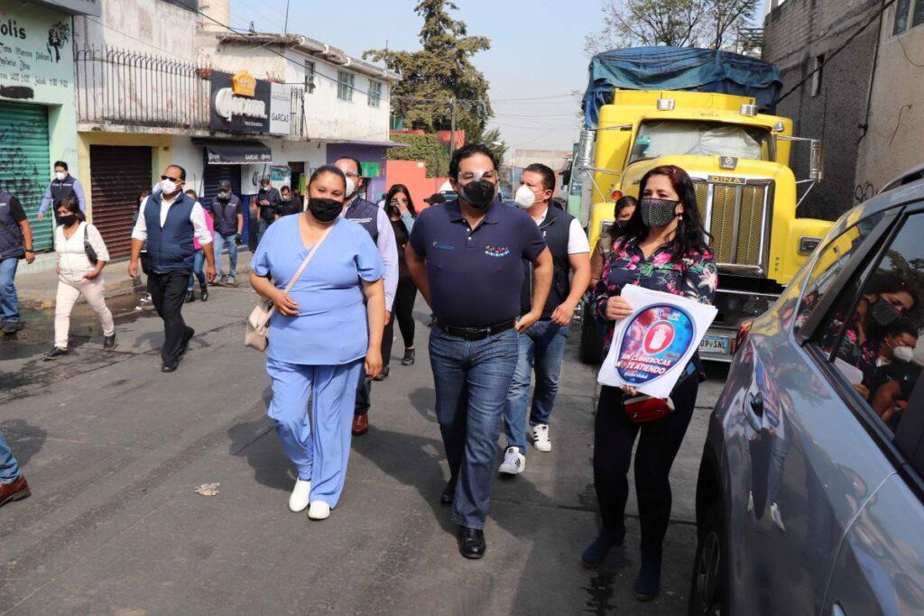Negocios grandes y chicos fueron visitados por inspectores de Huixquilucan