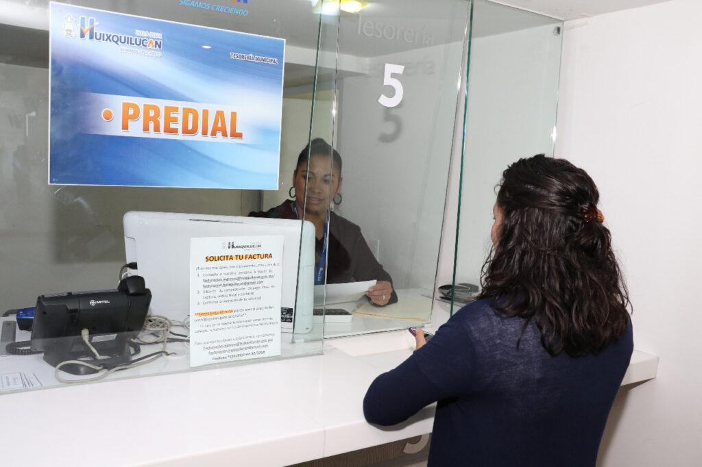 El pago rápido del predial en Huixquilucan