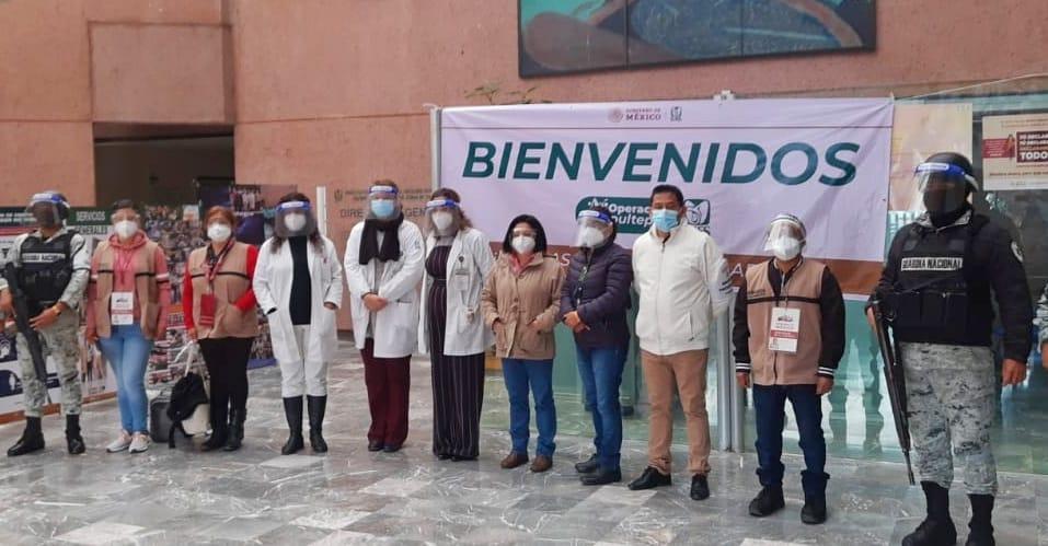 Brigadas de vacunación en Naucalpan encabezadas por Jesús Rea Almaguer, Delegado Regional del Gobierno de México