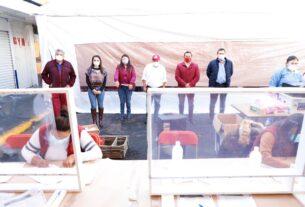Raciel Pérez Cruz encabeza inicio de pruebas para detectar COVID-19