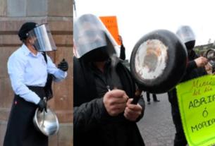Protestas de restauranteros
