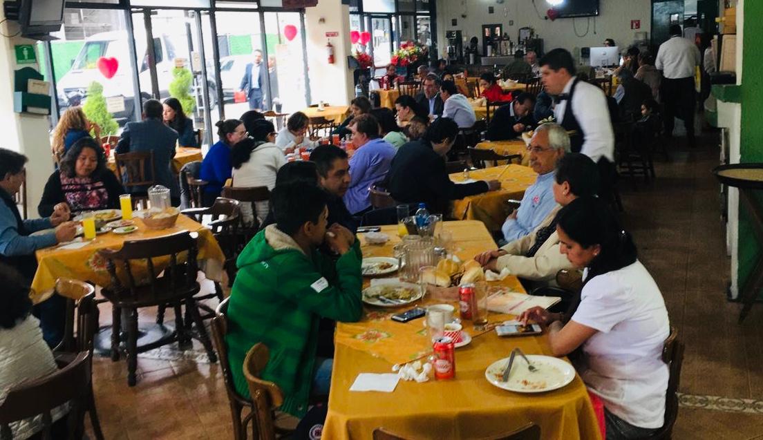 Restauranteros estiman bajas ventas por 14 de febrero