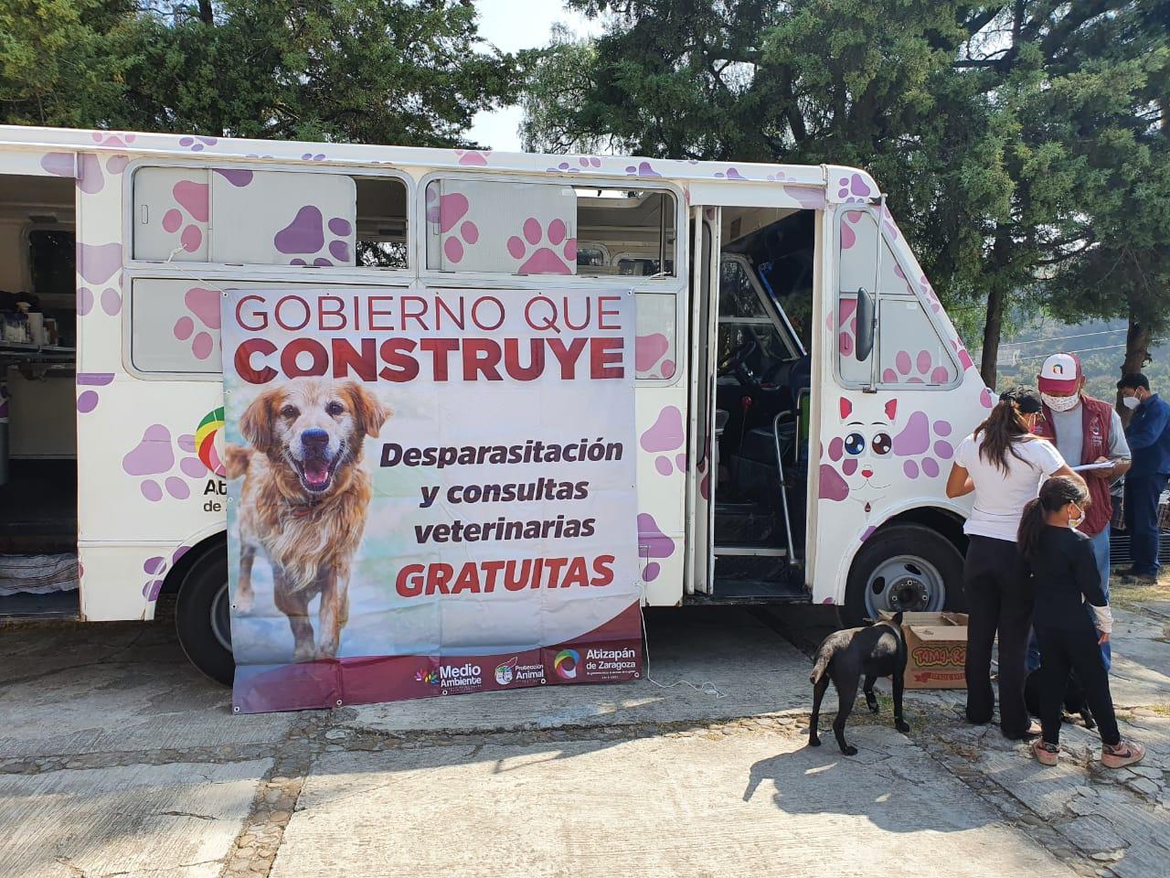Consultorio móvil para desparasitar mascotas en Atizapán