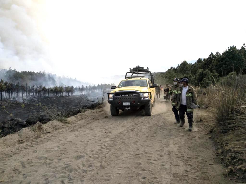 El llano en llamas en el Nevado de Toluca