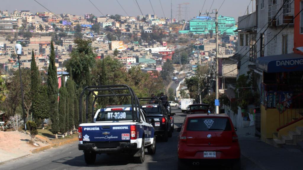 Gran atraso de movilidad en Naucalpan