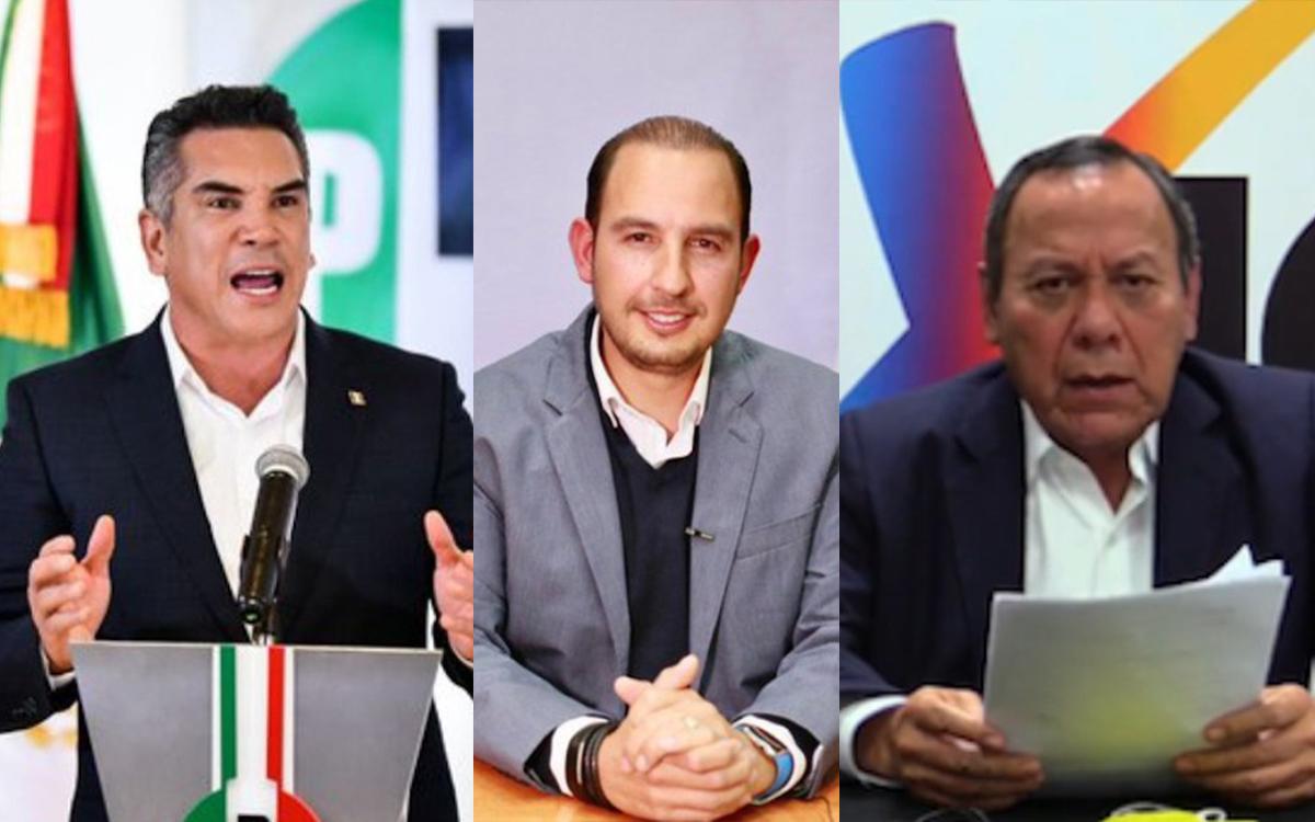 Piden a dirigentes de partido incluir a dirigentes sociales en la Coalición Va por México