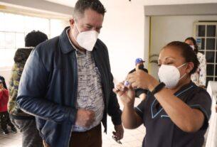 Sin orden alfabético la vacunación en Atizapán de Zaragoza