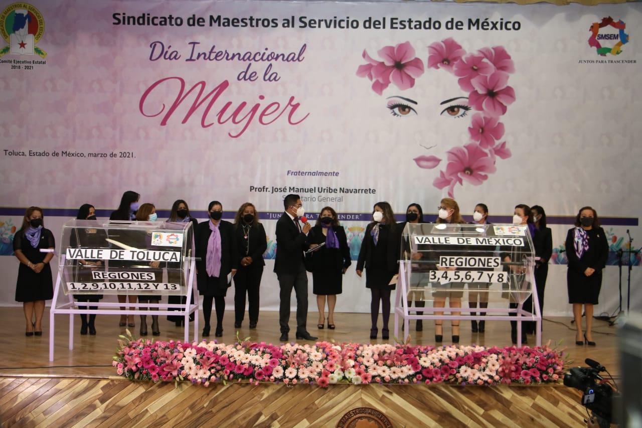 Para recordar la lucha de las mujeres, el SMEM organizó una conferencia, un concierto y una rifa