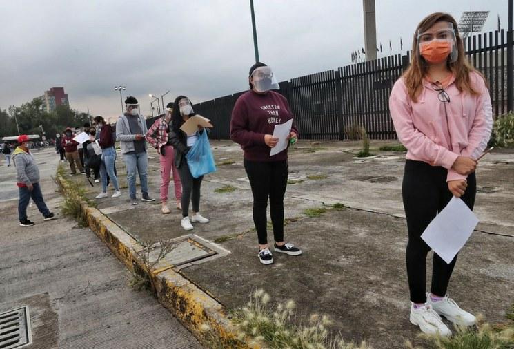 A examen de admisión en la UNAM