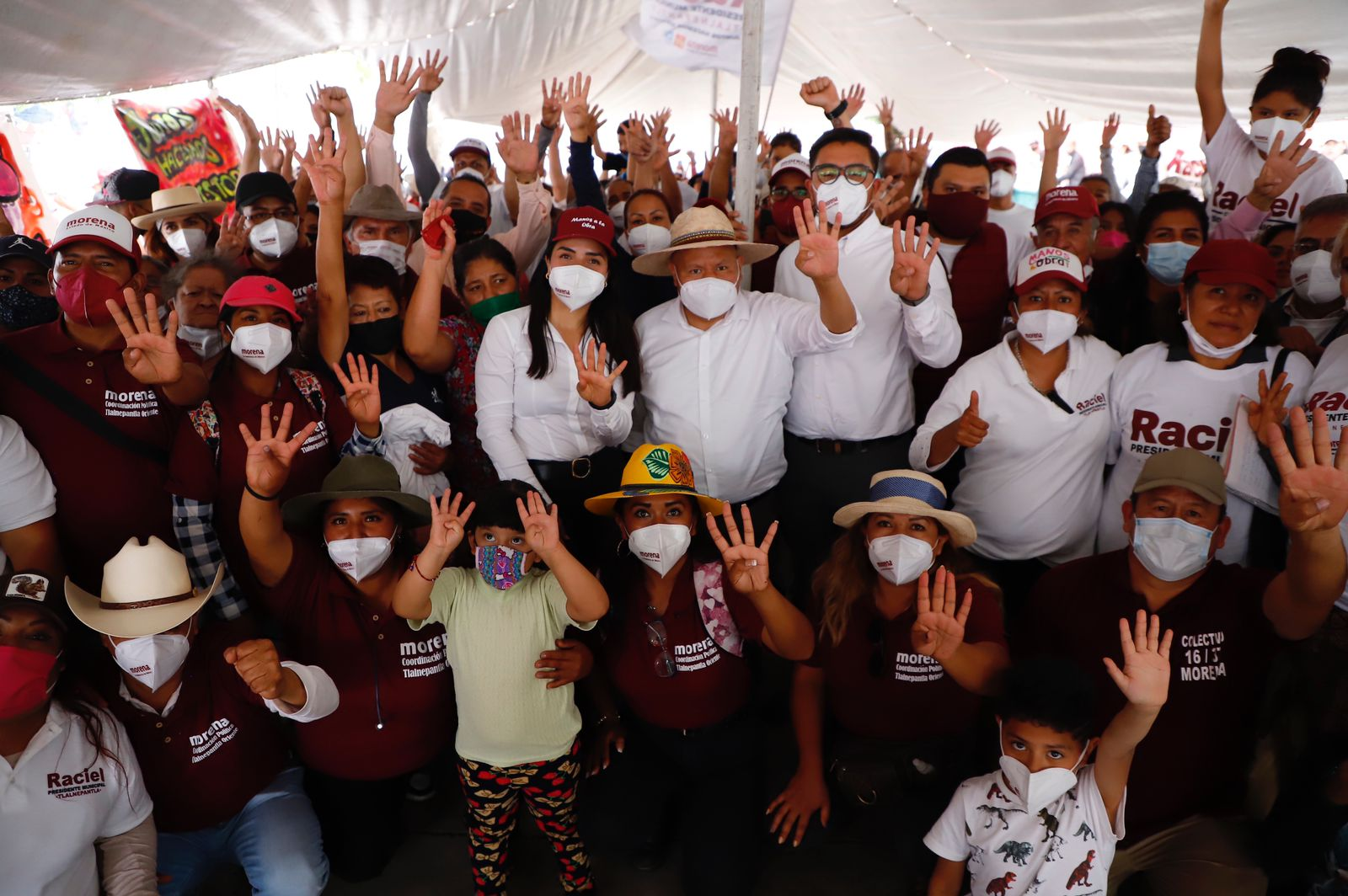 En Zona Oriente, Raciel Pérez Cruz, ofrece regularizar propiedades