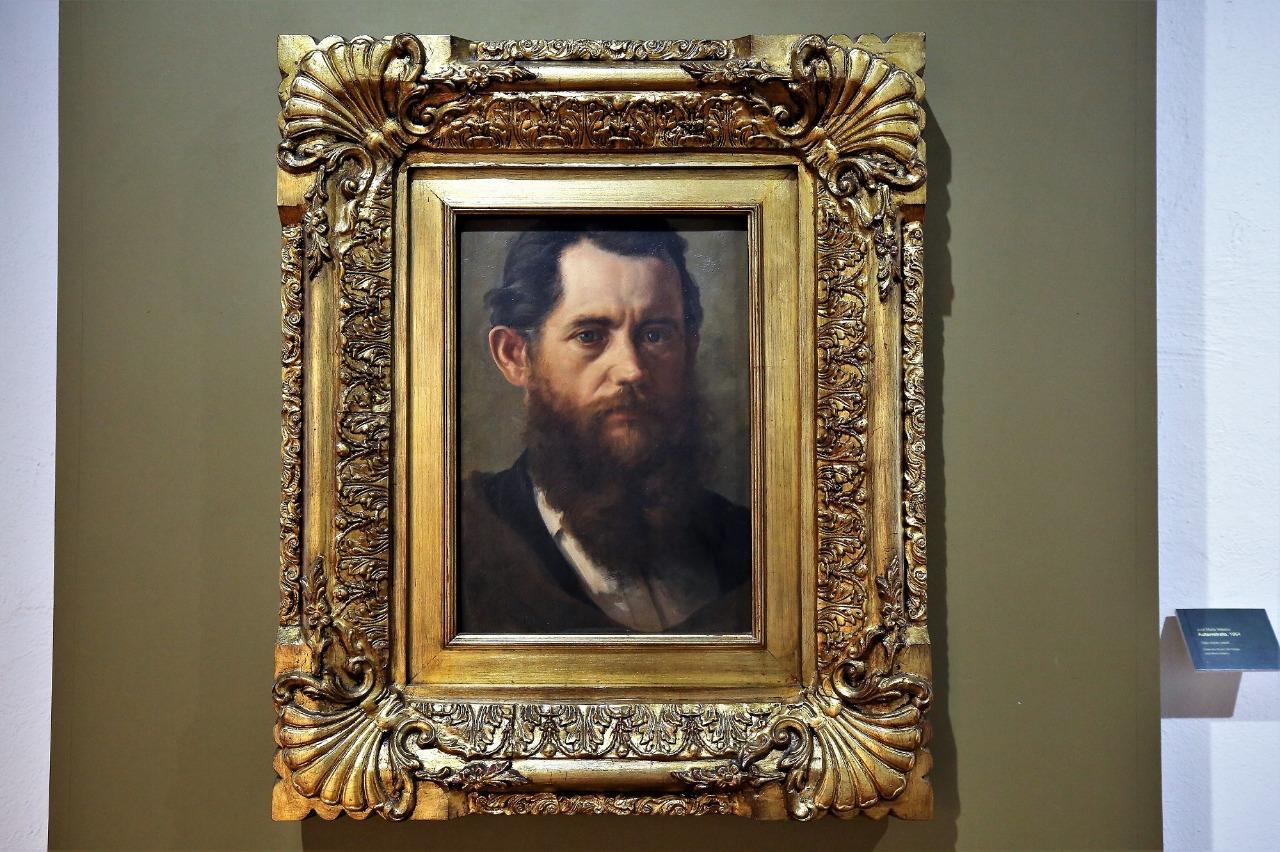 José María Ruiz de Velasco, auto retrato