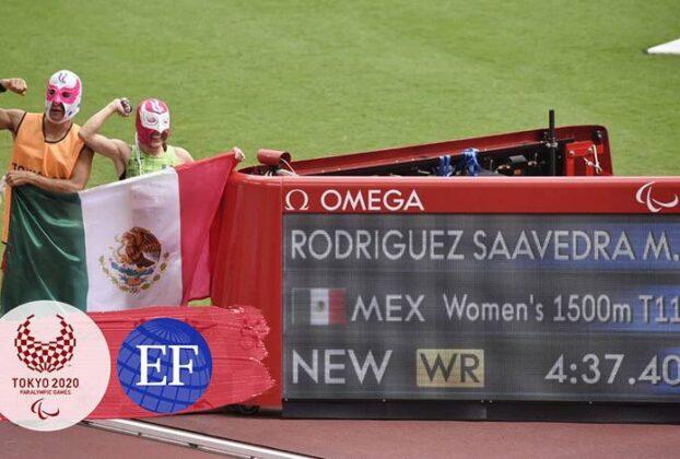 Oro y récord mundial en paralímpicos
