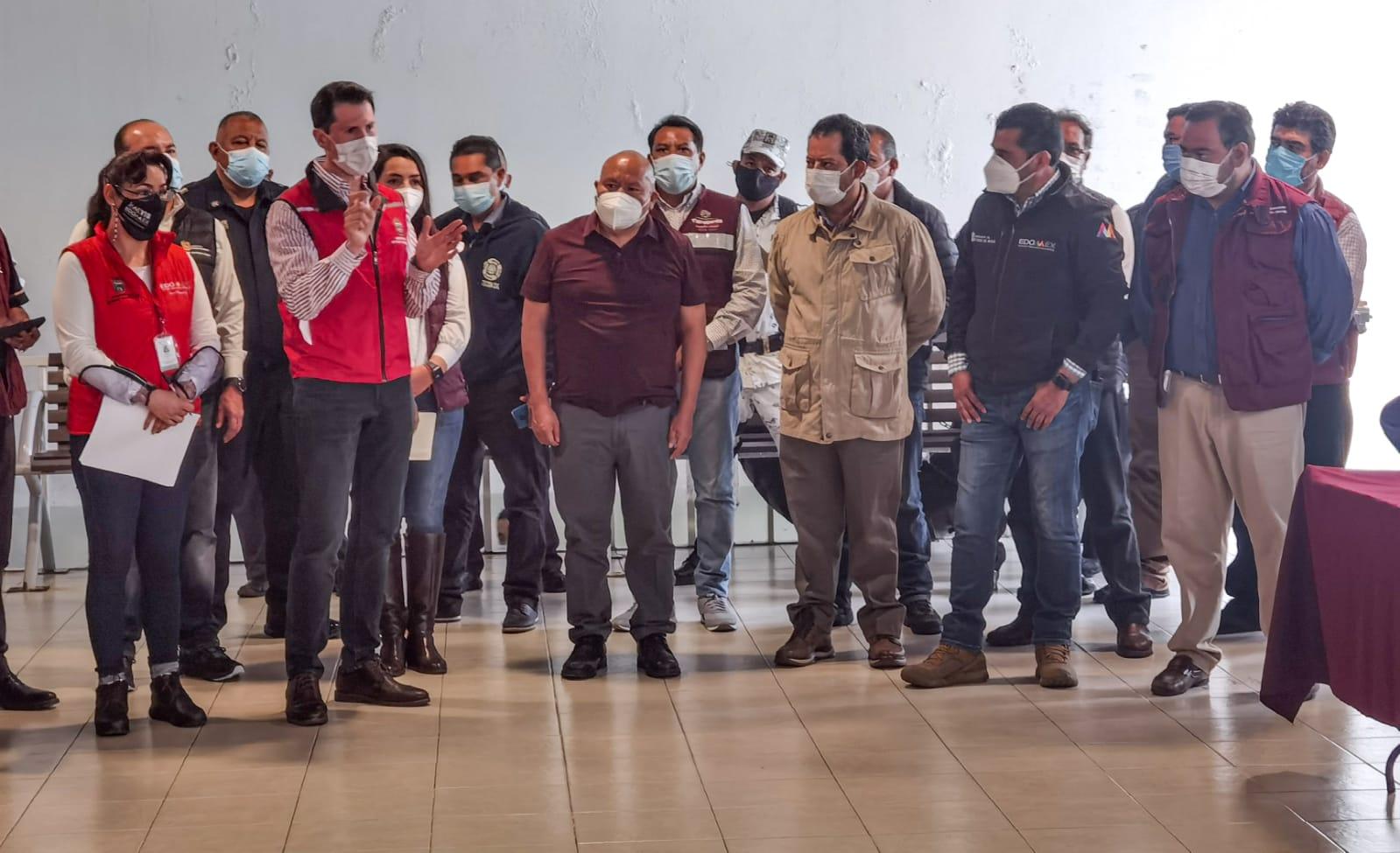 Los gobiernos de Tlalnepantla, que encabeza Raciel Pérez Cruz y del Estado de México analizan ayuda para afectados por derrumbe