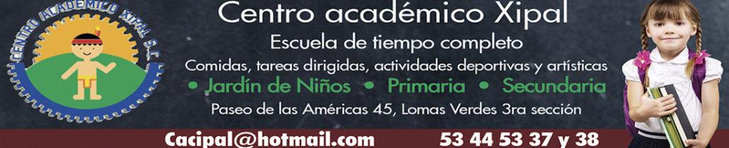Cintillo Centro academico Xipal2